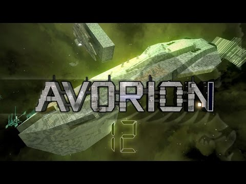 Avorion #12 RAILGUN BATTLESHIP - Gameplay / Let's Play