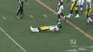 Steelers LB Ryan Shazier Remains In Hospital With Back Injury