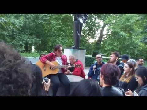 Chester Bennington, US Embassy, London Memorial - Sharp Edges, Linkin Park