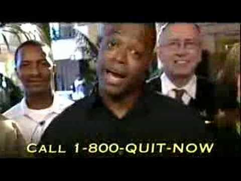 Darrell Green in Smoking Cessation PSA