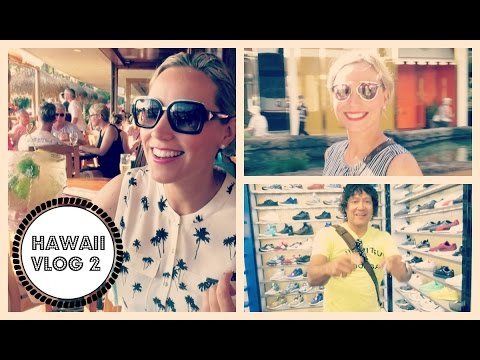 Come to Hawaii With Us - Part 2! Shopping, Surfing, NYE & Sun!