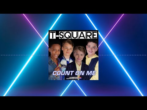 #13 T-SQUARE🔸COUNT ON ME🎶✨ (OFFICIAL LYRICS) | JUNIOR SONGFESTIVAL 2020 🇳🇱