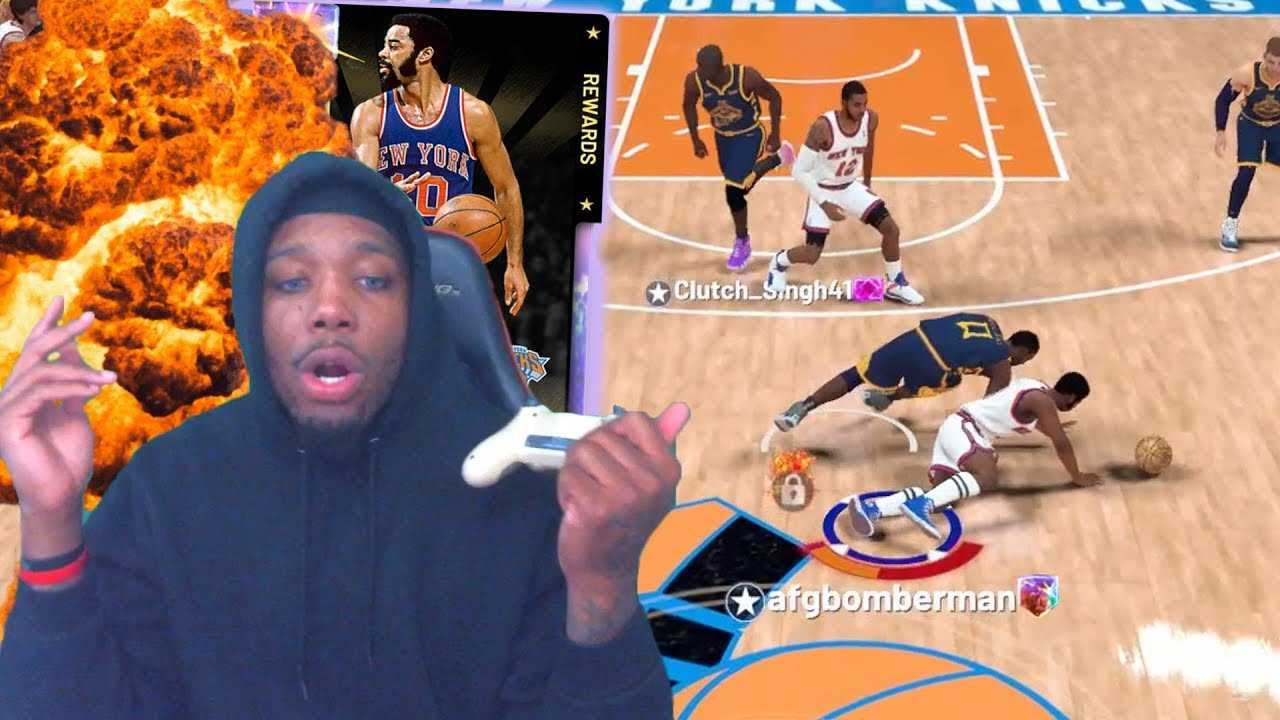 e790c6be7d0 welp... can you guess what happened here  NEW GALAXY OPAL WALT FRAZIER!  2K19 MYTEAM GAMEPLAY!