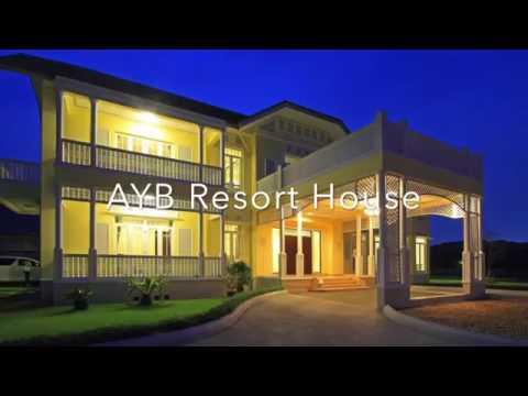 ผลงานการก่อสร้าง บ้าน Colonial Style by AYB Resort House อยุธยา สร้างบ้าน