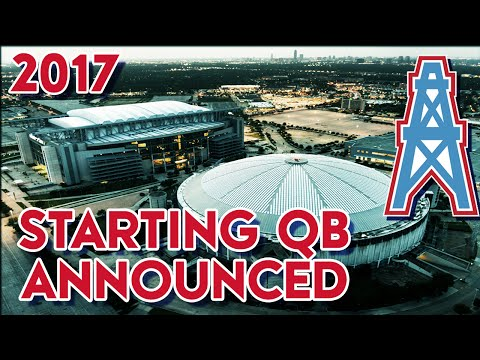 Madden 15 Franchise Mode - Houston Oilers: Starting QB Announced!!