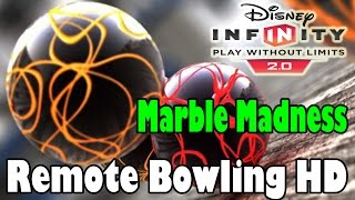 Disney Infinity 2.0 Toy Box Remote Bowling HD (Marble Madness)