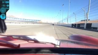 Austin Healey Sprite going fast