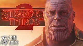 AVENGERS: INFINITY WAR | 'STRANGER THINGS SEASON 2' FINAL TRAILER STYLE