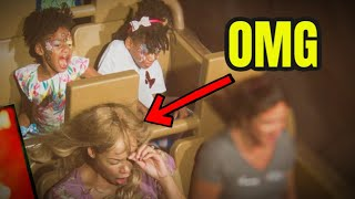 Don't Wear a Wig On a Roller Coaster! Our Mom's Wig Fell Off at Disney World