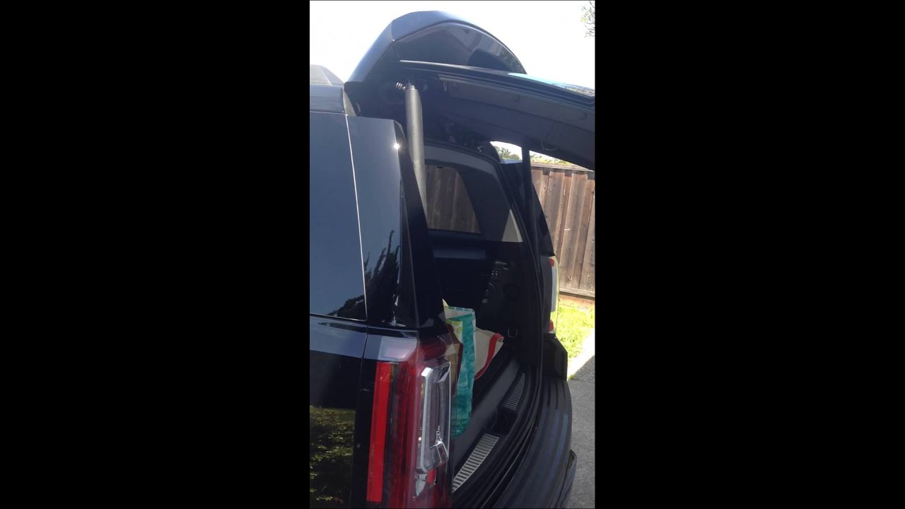 2015 GMC Yukon XL Liftgate / Tailgate Issue - YouTube