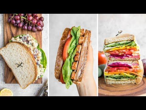 Vegan Sandwich Ideas for Back to School / Work