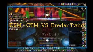 Enha Shaman Private Server Wow Excalibur CSM CTM vs Eredar Twins