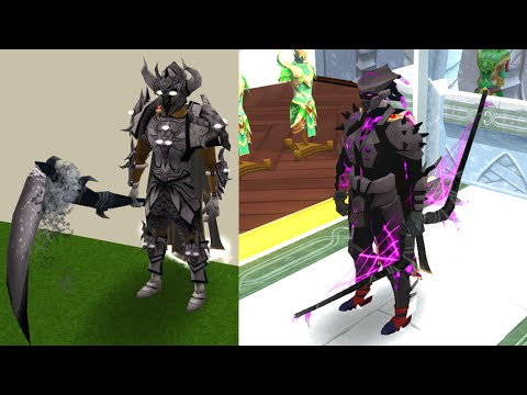 All Dyed Armours & Weapons [Barrows - Shadow - Third Age]