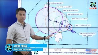Public Weather Forecast Issued at 4:00 AM December 13, 2017
