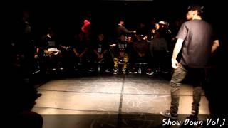 Best8-4 김선정 VS 박수찬 SHOW DOWN VOL.1 All STYLE 1:1 ROOKIE BATTLE -KAC한국예술원