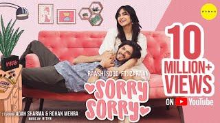 Sorry Sorry - Raashi Sood & Zaraan   Adah Sharma, Rohan Mehra   Latest Punjabi KarwaChauth Song 2021