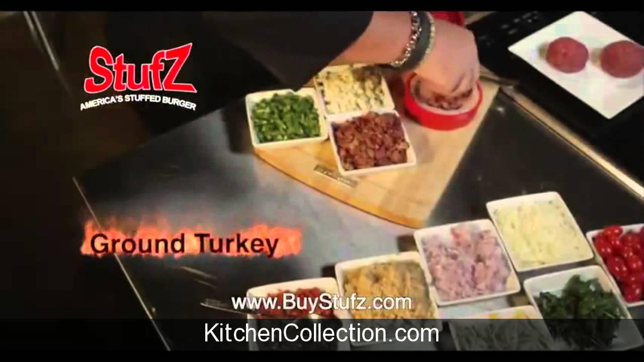 As Seen On Tv Stufz Burger Press Youtube