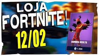 Loja Fortnite - Loja De Hoje 12/02/2019
