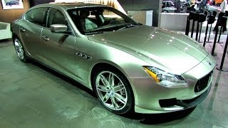 Maserati Quattroporte Ermenegildo Zegna Concept Car 2013 Videos
