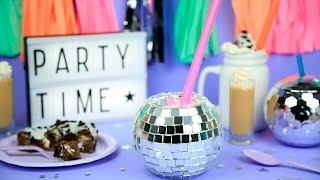 DIY Disco Ball shot glass