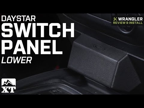 Jeep Wrangler Daystar Switch Panel - Lower (2011-2018 JK) Review & Install