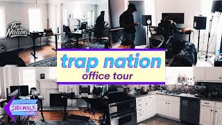 TRAP NATION Office Tour (The Nations-Rap Nation, Lowly Palace)