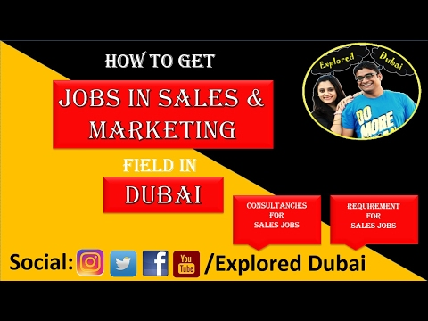 Sales Jobs in Dubai | Marketing Jobs in Dubai | Sales Job Consultancies in Dubai|