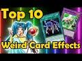 Top 10 Weird Cards Effects in YuGiOh