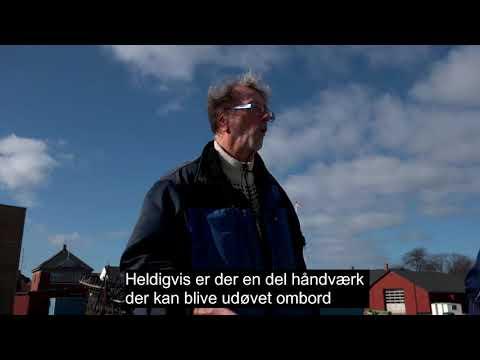 Ærøske håndværkere af høj klasse sætter skonnerten Bonavista i stand