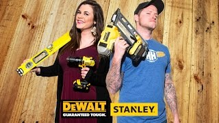 Fred & Mel's Diy Deck Off Powered By Dewalt And Stanley Tools