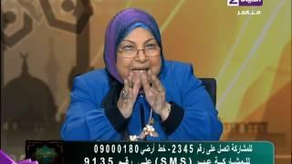 سعاد صالح: لا يصح أن نكون في بلد الأزهر ويفتي إمام مسجد.. فيديو