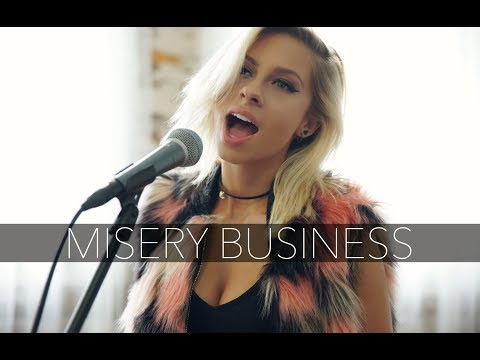 Paramore - Misery Business (Andie Case Cover)