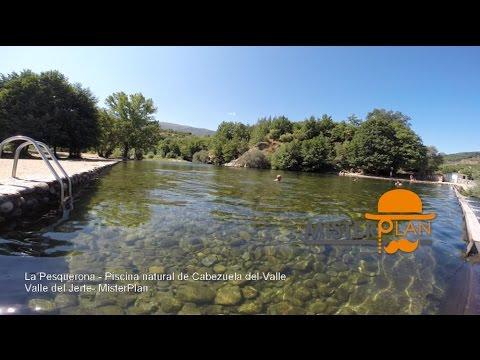 la pesquerona piscina natural en cabezuela del valle