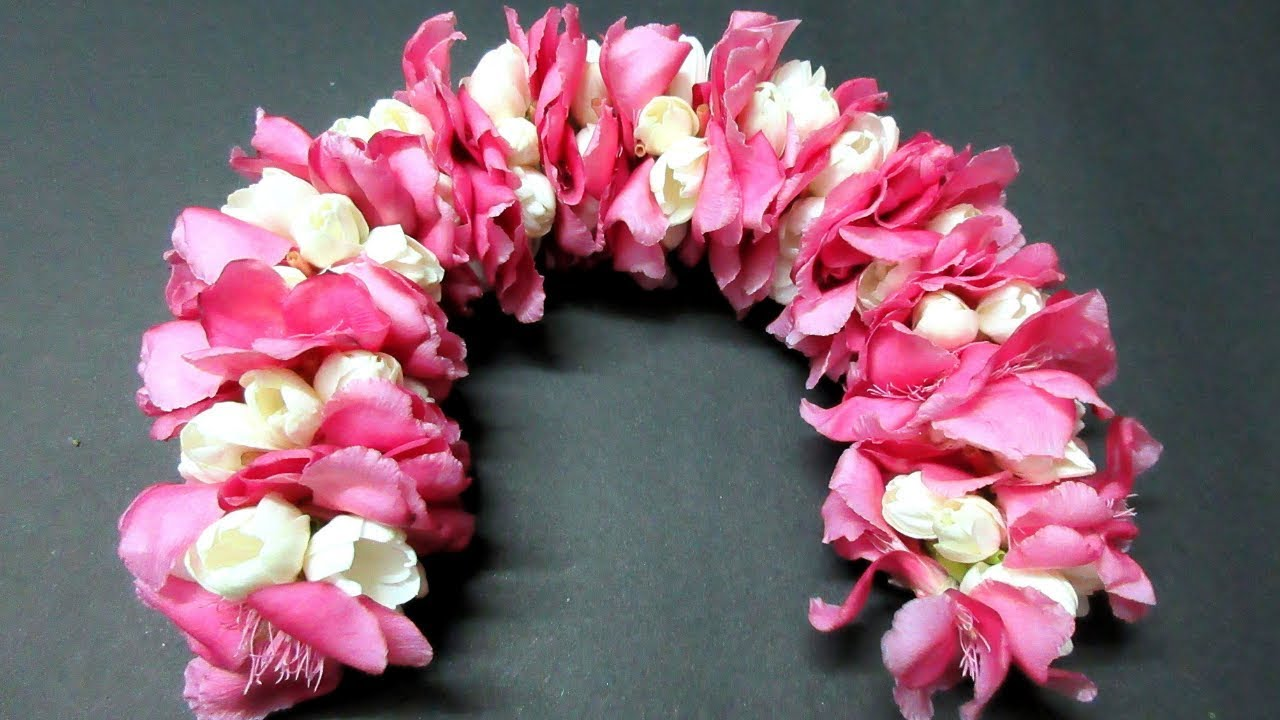 Mehndi Flower Garlands : Artificial jasmine flowers for hair bridal