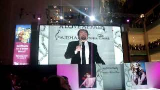 Andrew Amdur - Nessun Dorma - Dubai 2009