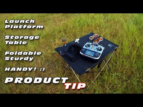 DutchRC - A handy & sturdy Launch-platform or table to store you gear on :)