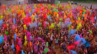Фестиваль красок Холи 2015. Репортаж с мероприятия.