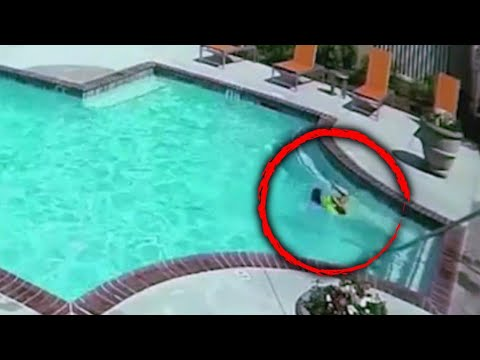 Jo Jo - Sister Saves Little One In The Pool!