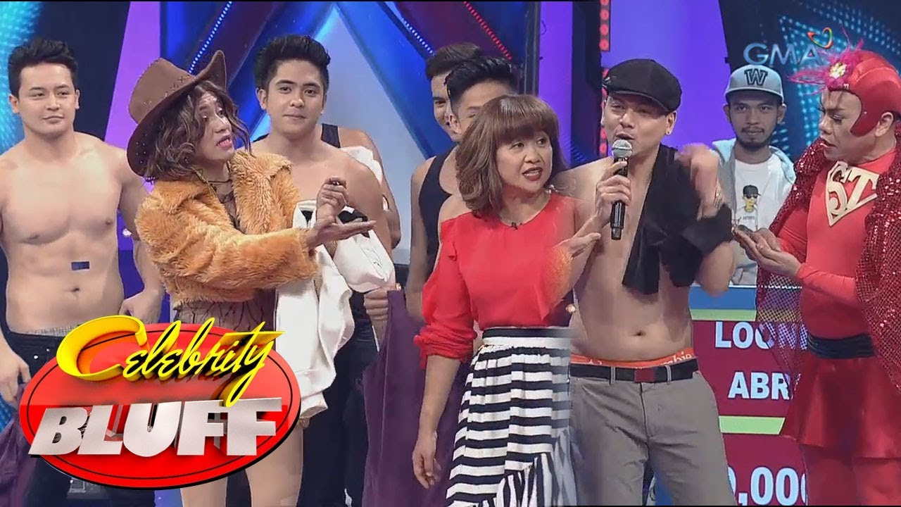 'Celebrity Bluff' Outtakes: One Up boys take it off!