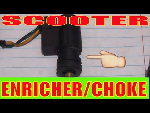 Gy6 Scooter Automatic Enricher, Gy6 Electric Choke Wiring Diagram