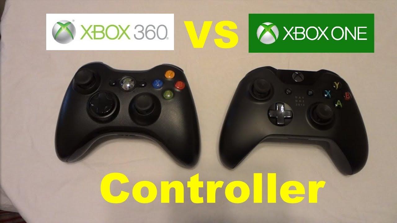 Xbox One Controller VS Xbox 360 Controller! - Feel-Based ... Xbox One Vs Xbox 360 Controller