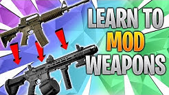 Learn To Mod Weapons - Tarkov Modding Guide - Beginner Guide