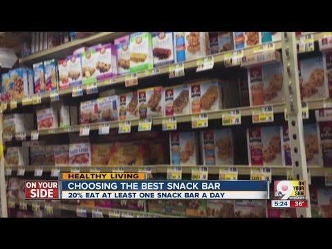 Choosing the best protein/nutrition bar