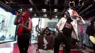 Hollywood Undead - Dead Bite & Hear Me Now [Live at Musique Plus 2013]