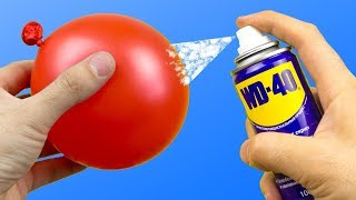 20 INCREDIBLE IDEAS WITH WD-40 | WD-40으로 20 가지 놀라운 아이디어