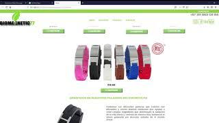 Muestra diseño web Bio Magnetic 77