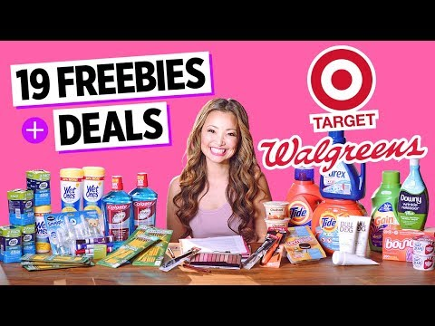 ☆ 5 FREEBIES - Target & CVS Coupon DEALS (Week 5/21-5/27