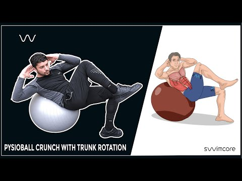 Crunch With Trunk Rotation | Dryland Workout | Technique Explained