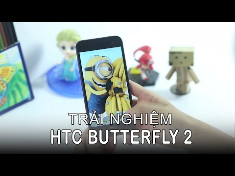 HoangHaMobile Đánh giá HTC butterfly 2 chính hãng