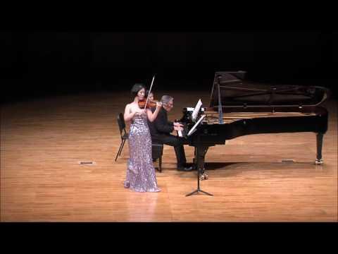"""Ju-Young Baek & Ralf Gothoni Duo Concert - Beethoven Violin Sonata No.9, Op.47 """"Kreutzer"""" (Mov.1)"""